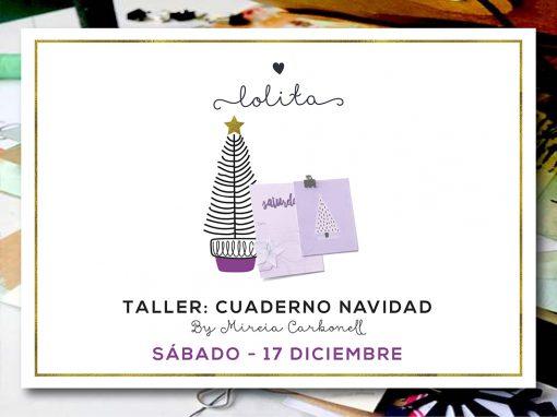 Taller: Cuaderno Navidad – Sábado 17 de Diciembre