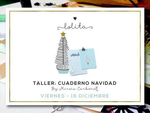 Taller: Cuaderno Navidad – Viernes 16 de Diciembre