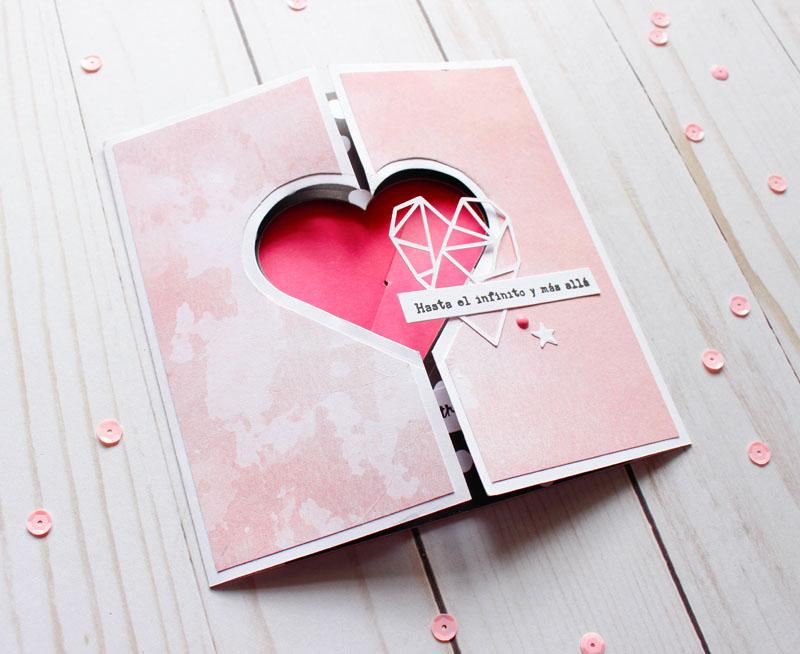 Tarjeta deslizable LOVE