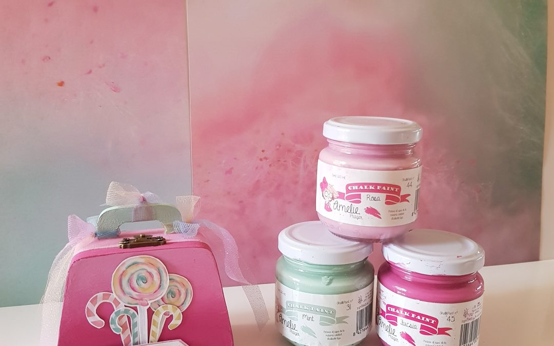 "Decoración con ""COTTON CANDY"""