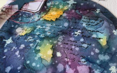 Tutorial: cómo hacer una galaxia con pigmentos