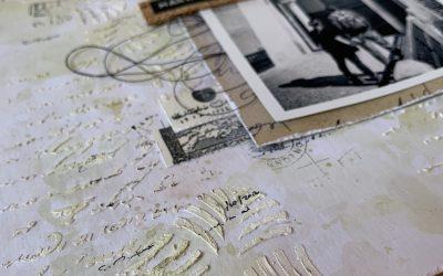 """Inspiración: Layout con la Colección """"Old Paper"""""""