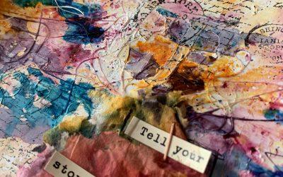 Página de Art Journal en Color