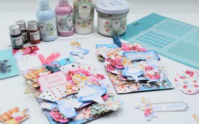 Etiquetas gemelas (Tag´s) con la colección Alice in Wonderland