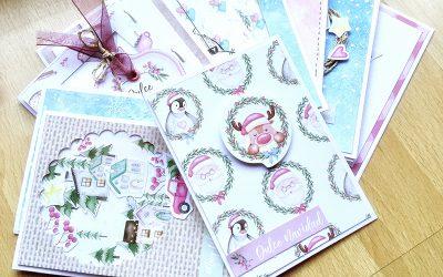 10 Tarjetas navideñas con la colección Mágica Navidad