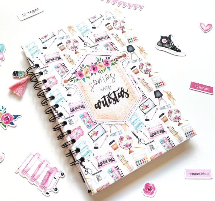 Cuaderno de creaciones – Encuadernación con Cinch